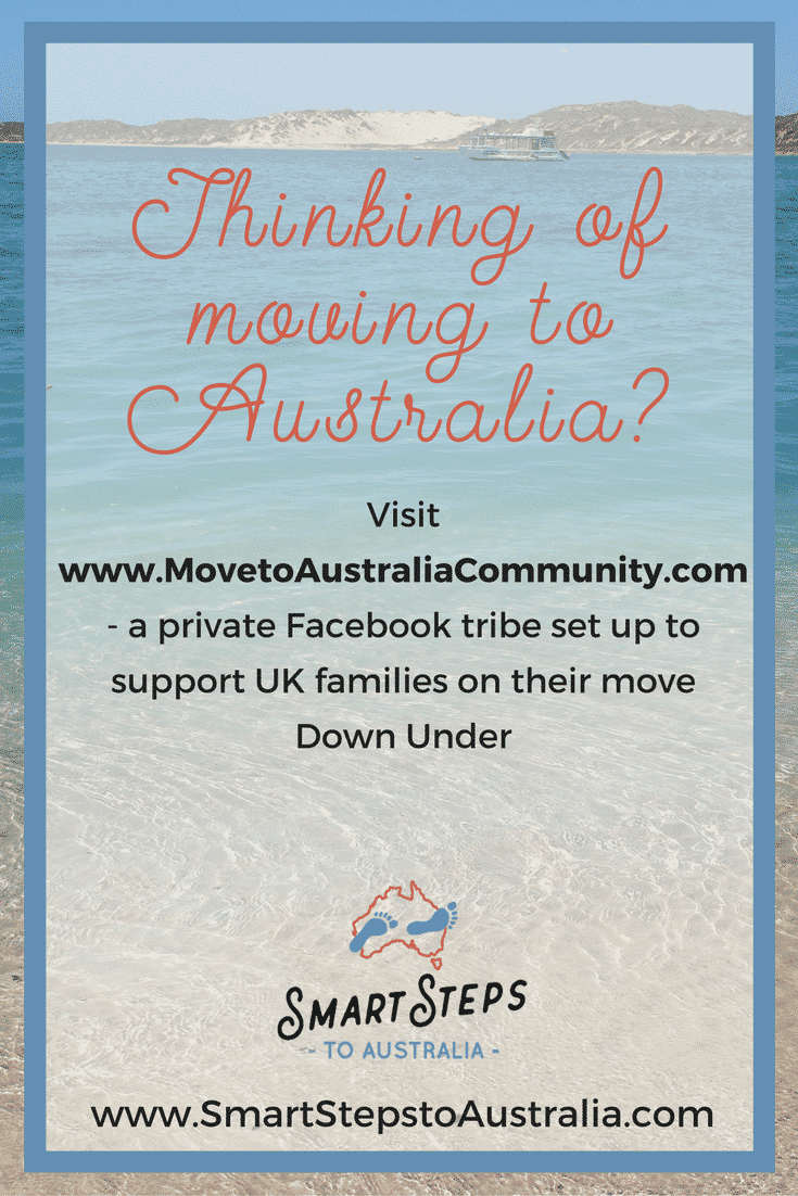 Pinterest image for Move to Australia Facebook group