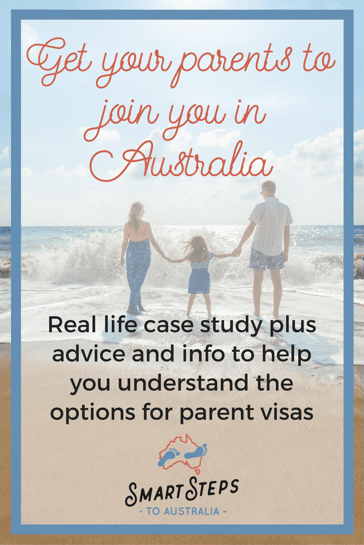 Pinterest graphic - How can I move my parents to Australia