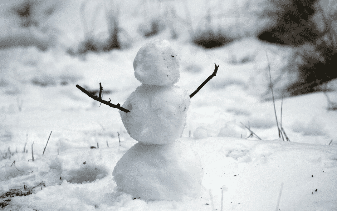 Picture of a snowman - how do you spend Christmas in Australia?