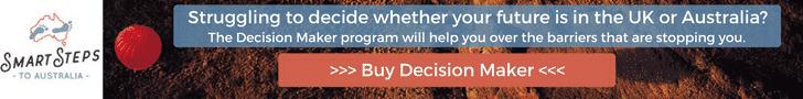Advert for Decision Maker Premium - Move to Australia