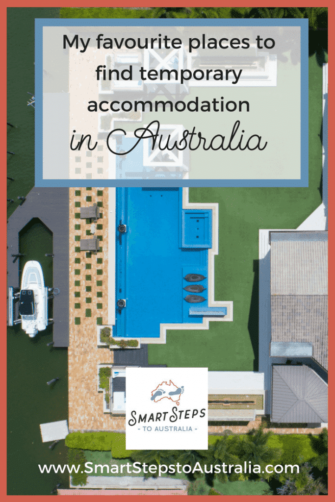 Pinterest image for finding short stay apartments in Australia