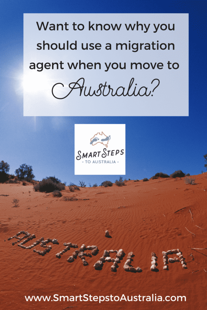 Pinterest graphic - why use a migration agent when moving to Australia