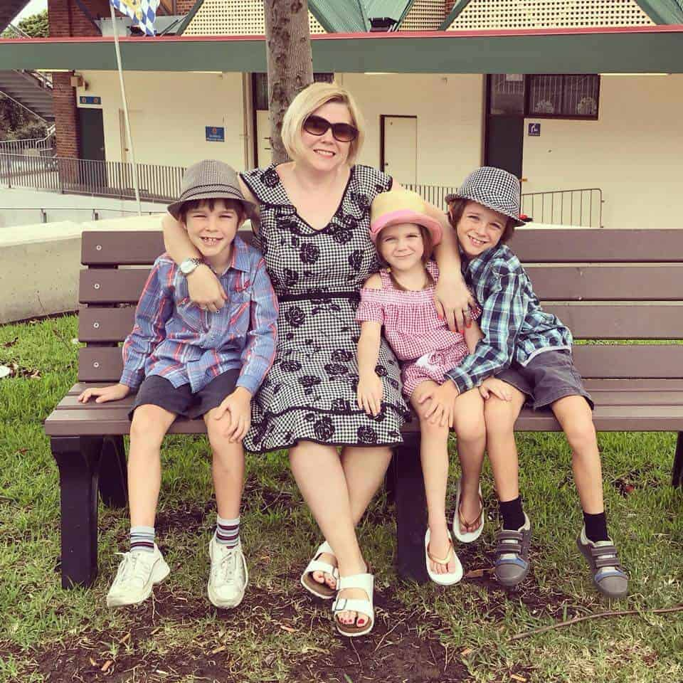 Smart Steps to Australia's family all dressed ready for Oktoberfest Brisbane