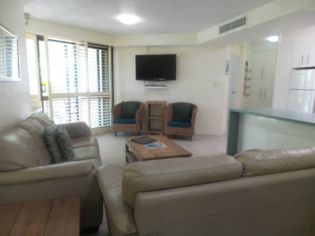 The apartment at Ocean Breeze Resort - where to stay in Noosa