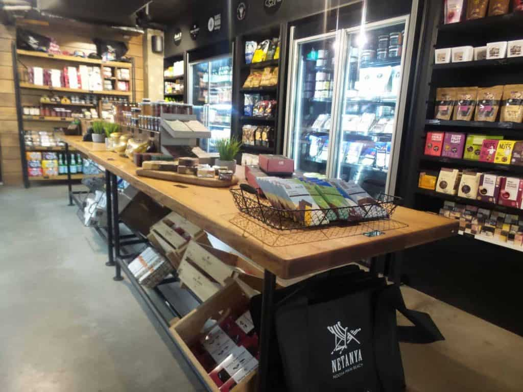 Inside the deli at Providore on Hastings