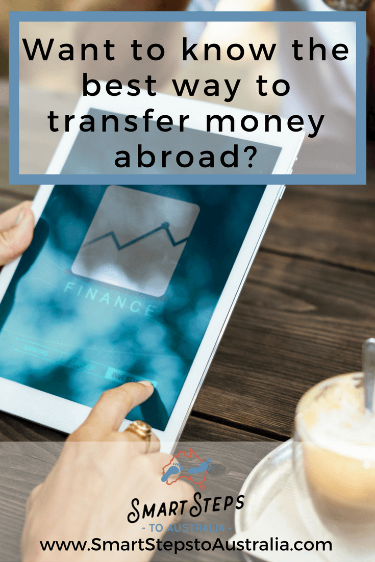 Pinterest image that says Want to know the best way to transfer money abroad?