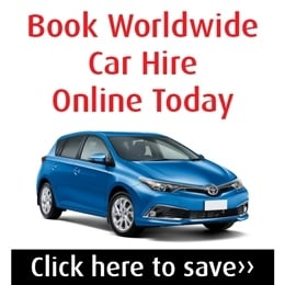 Car hire in Australia advert