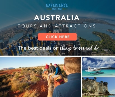 Experience Oz banner for Australia gift ideas
