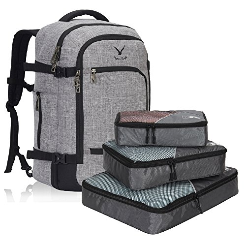 069020a6a965 My favourite lightweight rucksack for travel is the Veevan Backpack Cabin  Flight Approved 40 Liter Carry On Bag Waterproof Travel Business Rucksack.