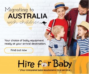 Ad for Hire for Baby for migrating to Australia with children