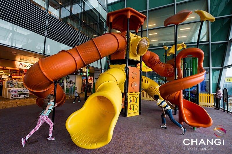 A playground at Changi Airport Singapore