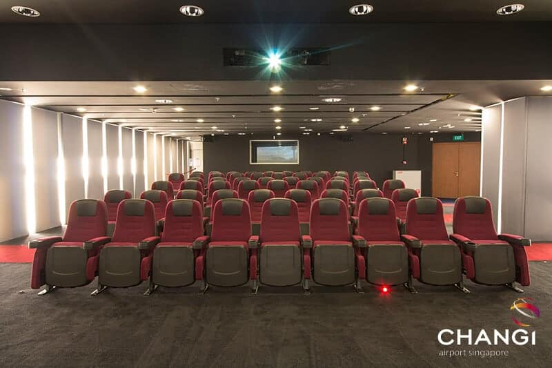 A cinema at Changi Airport Singapore