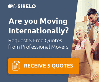 Advert to promote 5 free shipping quotes from Sirelo