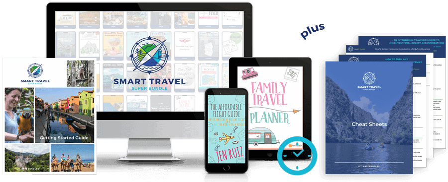 Smart Travel Super Bundle: Find out how to travel smarter
