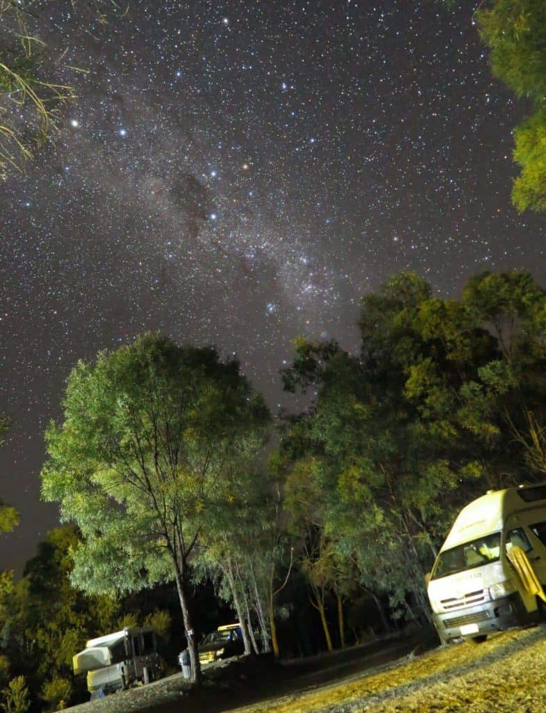 A starry night on Australia's East Coast
