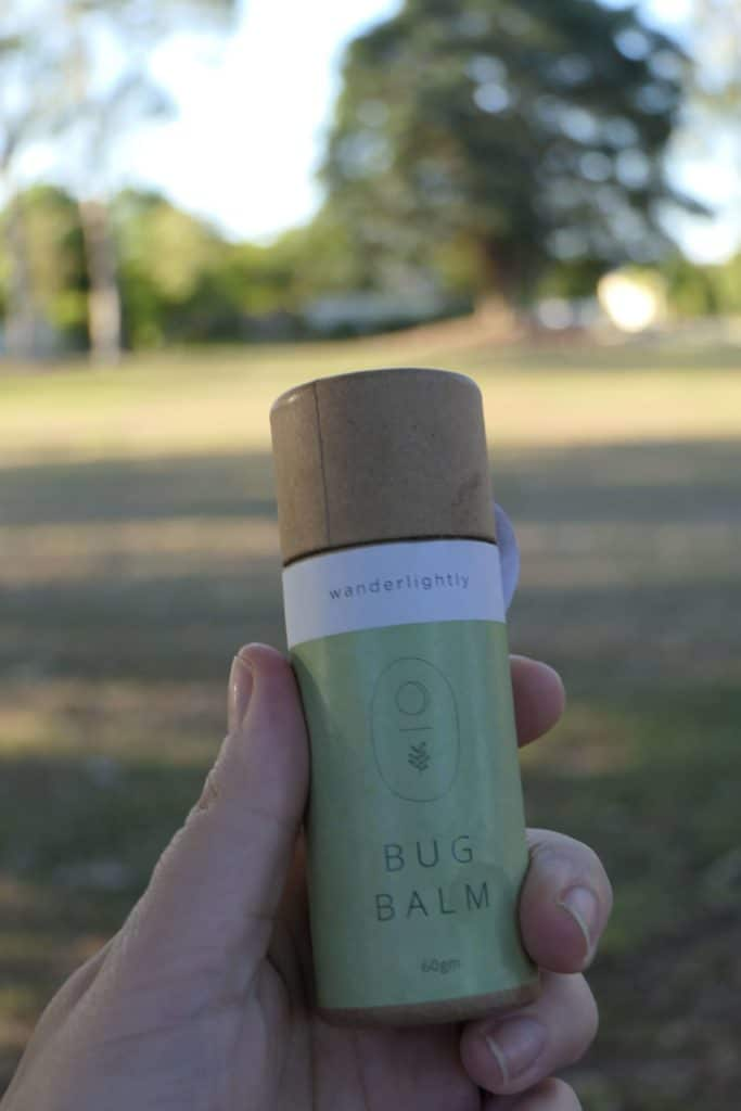 A tube of Wanderlighly bug balm