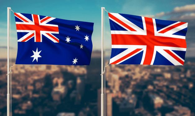 Living in England vs Australia