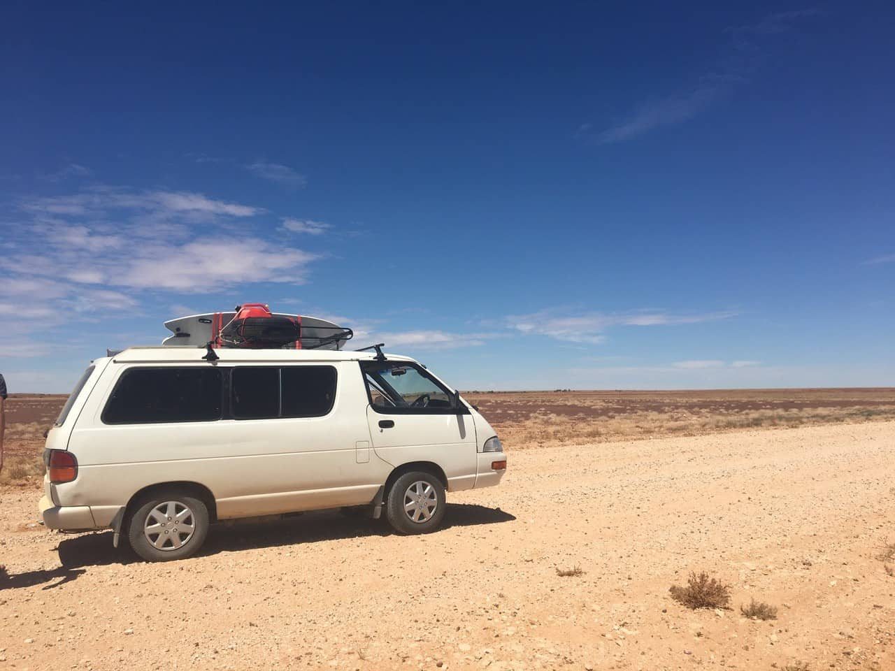 A vehicle set up for camping in Australia