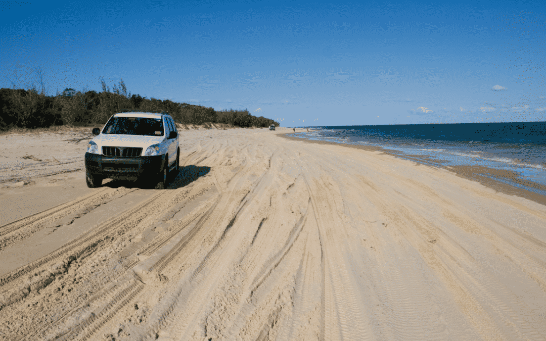 A beginner's guide to driving on sand in Australia
