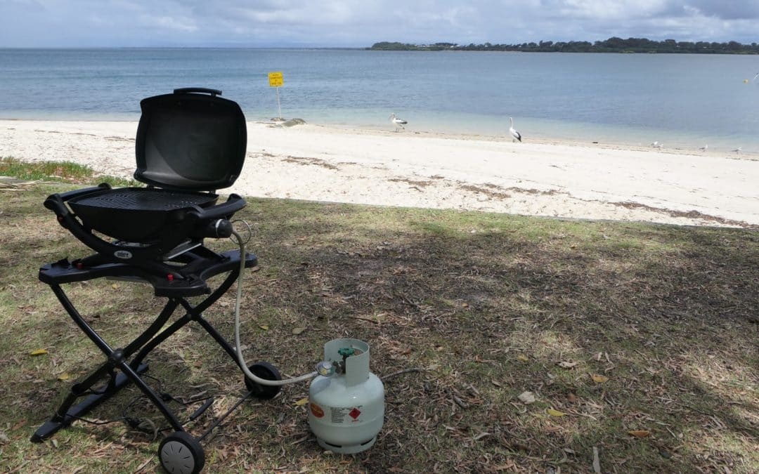 Read my Weber Baby Q review
